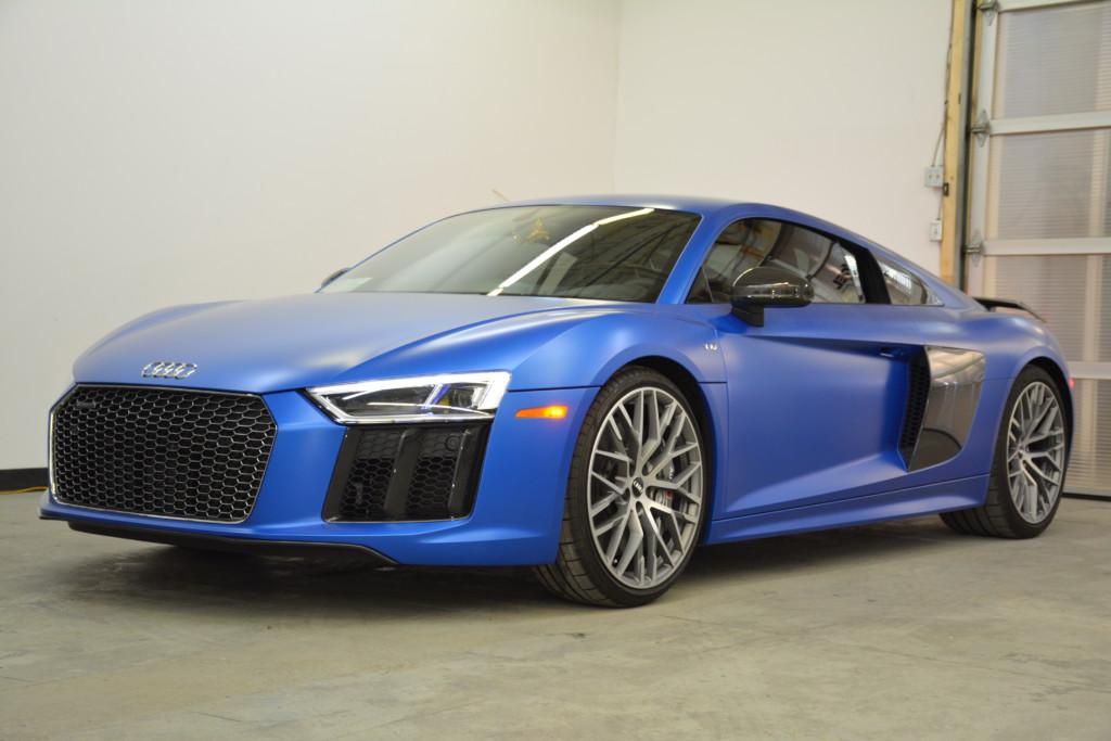 Audi R8 Matte PPF