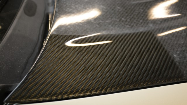 Carbon Fibre Paint Correction after